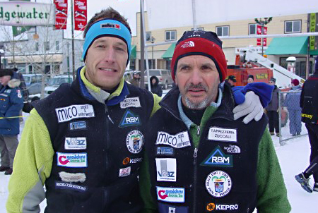 Stefano Miglietti e Chicco Ghidoni, YAU 2007 - photo by YAU staff