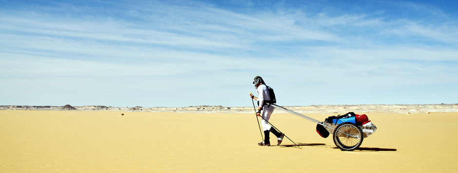 Attraversata del Great Sand Sea Desert